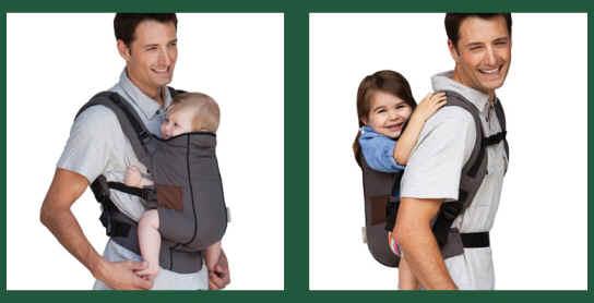 Posiciones mochila ergonómica